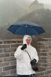 På kinesiska muren
